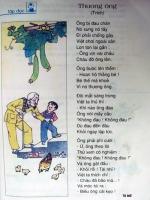 Tranh cãi chuyện cắt nối bài thơ trong SGK lớp 2